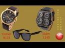 Деловые часы Сurren 8123 брутальные Oulm 1140 и солнцезащитные очки Посылки из Китая
