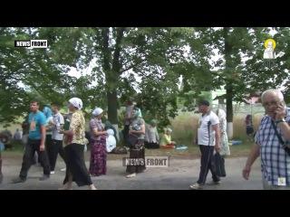 Под Киевом заблокирован Крестный ход