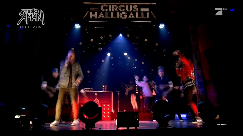 Macklemore Ryan Lewis - Dance Off (CIRCUS HALLIGALLI - 2016 mar14)
