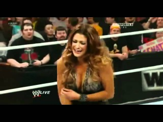 John Cena Owns Eve Torres  Makes Her Cry   WWE Raw 22012