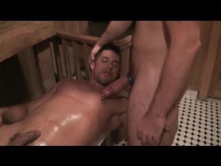 Сауна, душ, тренажерный зал (gay, anal, sauna, gym, shower)