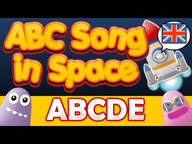 ABC Space Song Mission ABCDE Zed Version British English