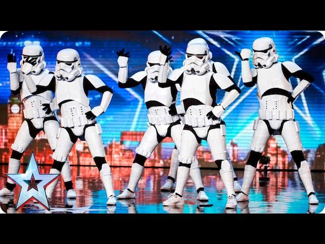 Boogie Storm make Simon's dream come true Auditions Week 5 Britain's Got Talent 2016