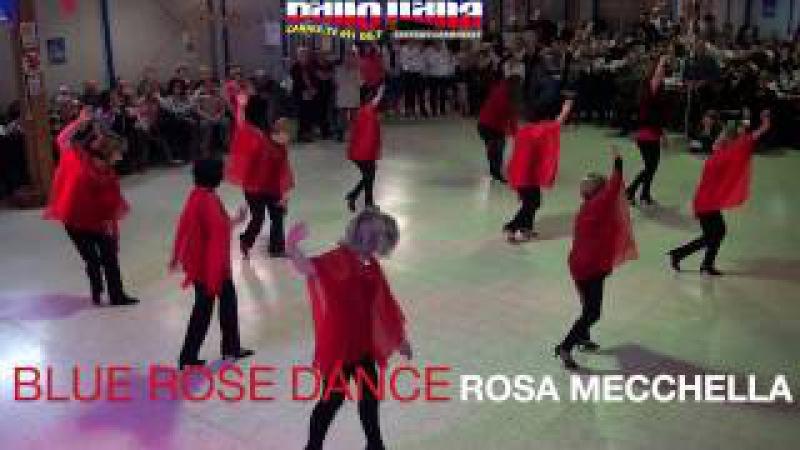 BLUE ROSE DANCE A BAILANDO CON NOI NATALE 2016 ROMA CONDUCONO ALEX E FABIOLA CILLI