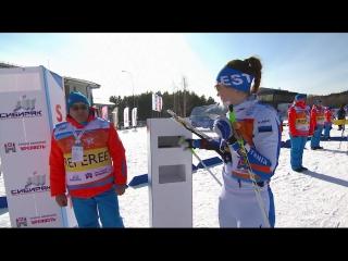 Лыжное о. чемпионата мира 2017. женщины. средняя дистанция