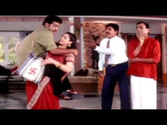 Jr N T R Nagma Hilarious Comedy Scene Allari Ramudu Jr N T R Aarthi Aggarwal Gajala