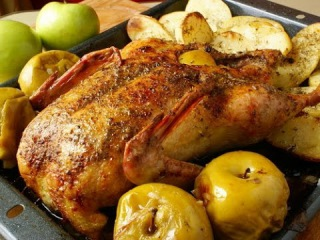 Утка с яблоками:пошаговый рецепт. Выпуск №4 1000 советов кулинару