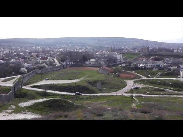 Феодосия вид на город с башни Генуэзской крепости Кафа