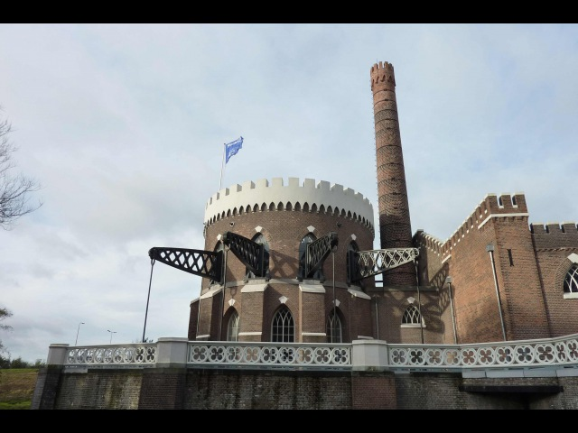Visit to Cruquius Pumping Station Heemstede Holland