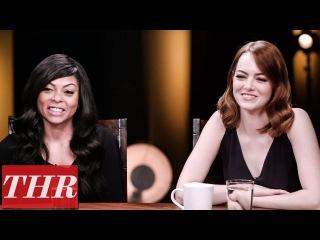 THR Full Oscar Actress Roundtable: Emma Stone, Natalie Portman, Taraji P. Henson & More