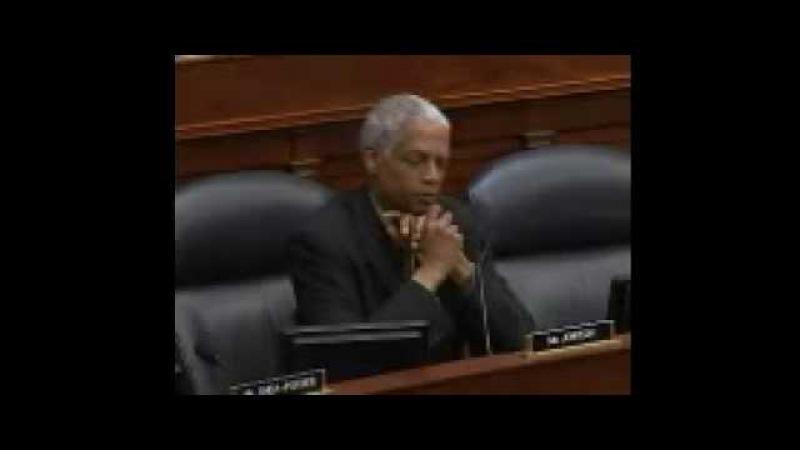 Hank Johnson (Congress D-GA) - Warns Guam May Capsize