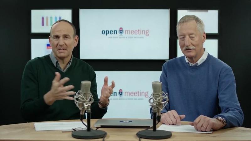 1 Открытая встреча с Дагом ДеВосом и Стивом Ван Анделом Часть 1 Введение