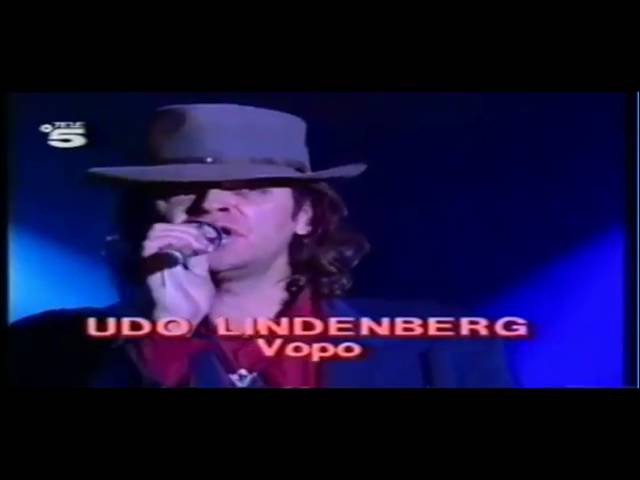 UDO LINDENBERG NINA HAGEN VoPo 1989 HD