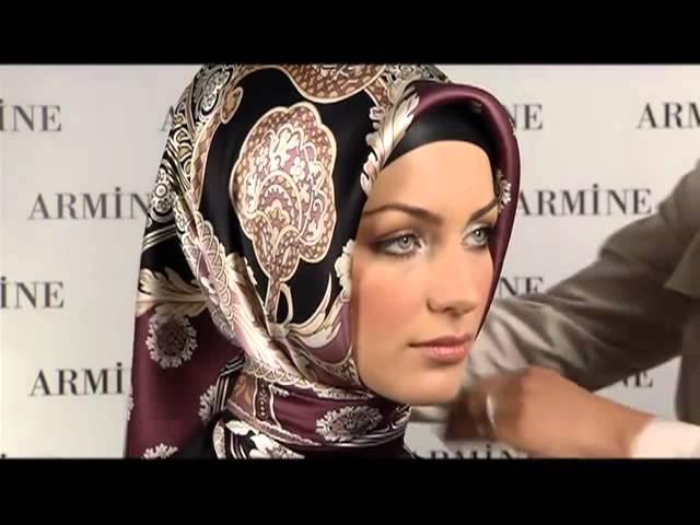 Esarp Baglama Sekilleri 7 Armine Esarp Turkish Hijab Tutorial