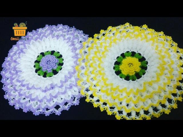 Lahana lif modeli yapımı yapılışı ** How to make knitting flower