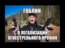 Гоблин о легализации огнестрельного оружия в России. Почти разведопрос