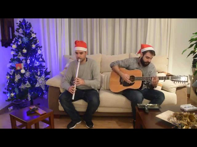 Jingle Bells TinWhistler's Celtic Irish style version on low whistle