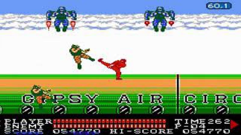 Spartan X 2 FCEUX NO DAMAGE RUN by Azatron