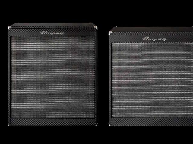 Ampeg Portaflex Series Extension Cabinets PF 410HLF PF 115LF Feature Overview