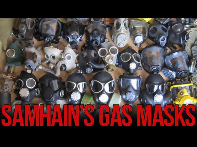 Коллекция противогазов | Collection of gas masks