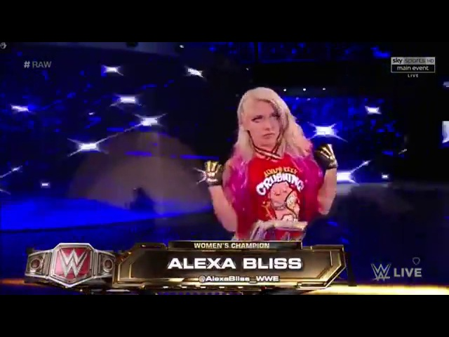 SB Group Emma Nia Jax vs. Sasha Banks Alexa Bliss