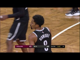Spencer Dinwiddie Highlights | 22 Points | vs. Cleveland Cavaliers |