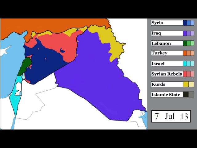 Syrian Civil War and Spillover Every Day