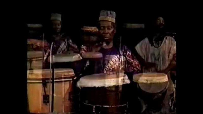 African Drumming Babatunde Olatunji Trio Performance Using The Preceding Rhythmic Patterns