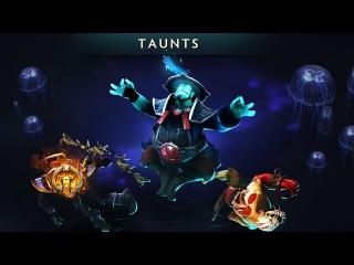 ALL NEW TAUNTS! TI7 Compendium Battle Pass Dota 2