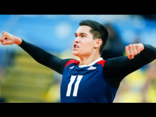 Top 20 aggressive play setters beautiful volleyball actions world league 2017