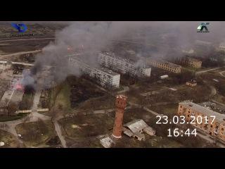 Балаклея. Последствие взрывов на складе боеприпасов