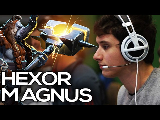 HexOr Magnus Plays @ Dota 2 SAE League German Live Commentary