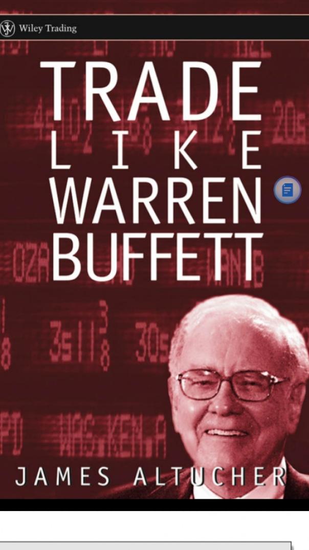Trade like Buffet