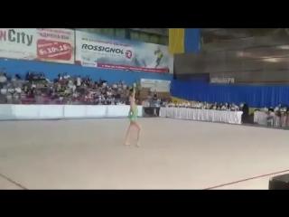 Анастасия Валентирова Булавы Днепр 2003 - Чемпионат Украины Луцк 2018