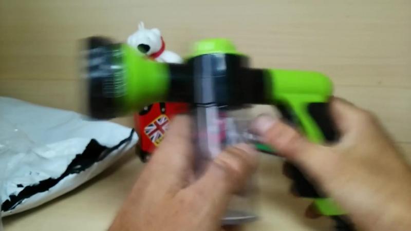 Водяной пистолет с пенообразователем