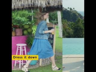 Яркая и стильная одежда, чтобы наслаждаться яркими моментами все лето напролет!