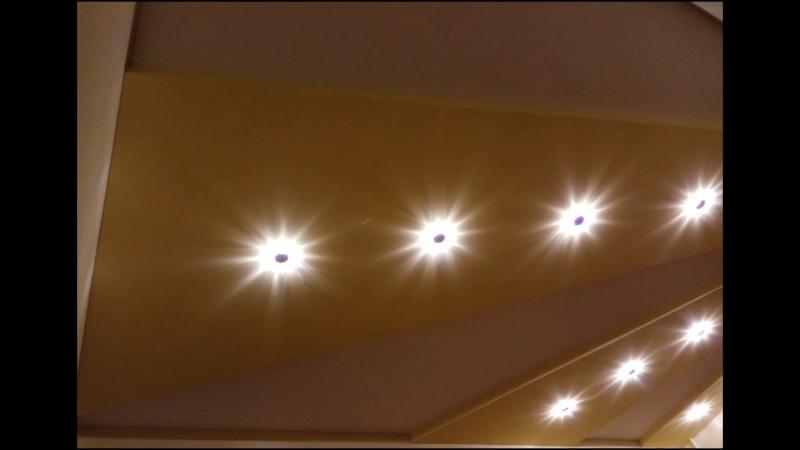 Двухуровневые тканевые потолки Clipso