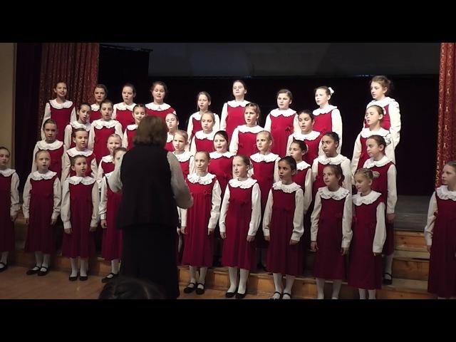 Концерт Музыкальная мозика 11 12 16 Средний хор девочек ДЦМШ Успенского храма г К