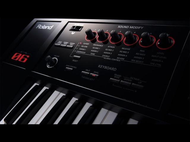 Roland fa06 review