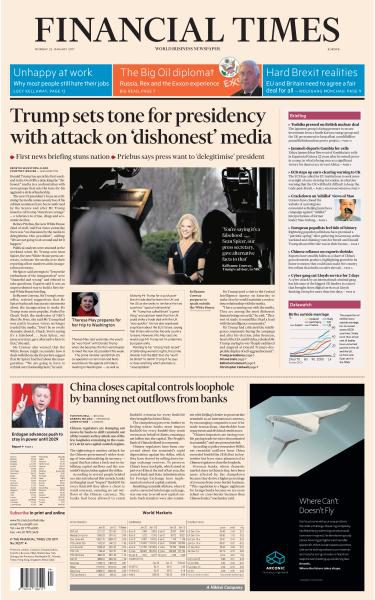 Financial Times Europe - 23 January 2017 FreeMags