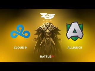 Cloud 9 vs Alliance, Game 2, Zotac Cup Masters, EU Qualifier