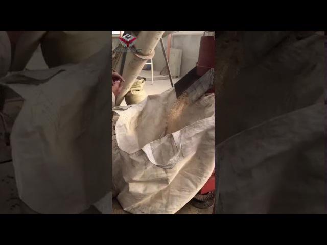 YMKJ350 испытание пеллет из древесных гранул