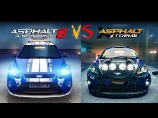 Asphalt 8 vs Xtreme | Graphics Comparison