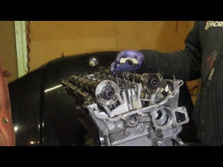 Установка Распредвала BMW M52/M54 Installing Camshaft  BMW M52 / M54