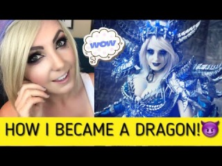 HOW TO MAKE SINDRAGOSA: Cosplay Creation Time Lapse & Walk Through Jessica Nigri