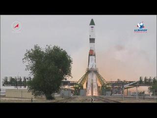 Пуск РН  Союз-2.1а с ТГК Прогресс МС-06 14 Июня 2017