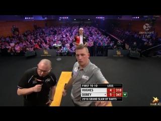 Jamie Hughes vs Chris Dobey (Grand Slam of Darts 2016 / Round 2)
