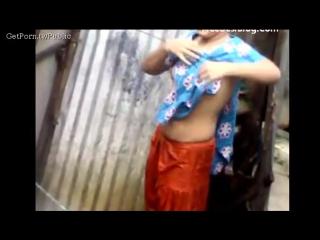 Village girl dress changing caught on camera