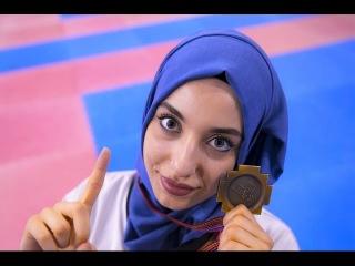 Kubra DAGLI The Most Beautiful Girl Hijab Taekwondo Turkey's Champ