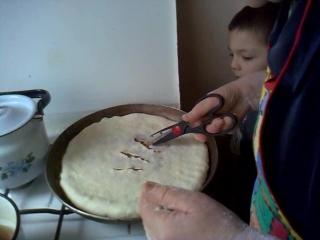 Бабуля готовила фычики.
